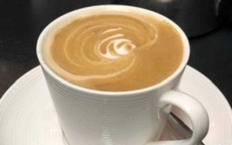 Roasted coffee house drink