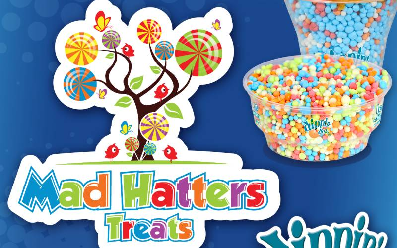 Mad hatters treats lollies