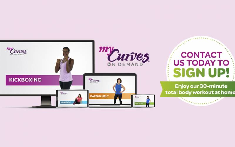 Curves fitness service